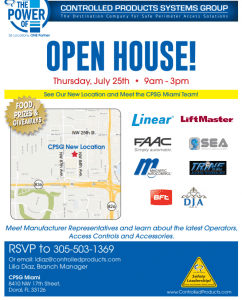 CPSG Open House details