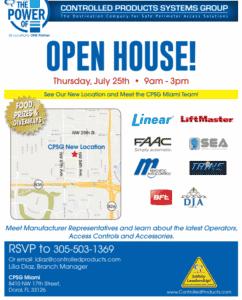 CPSG Open House details