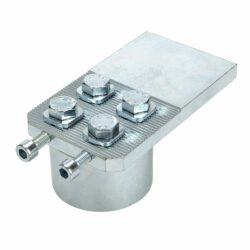 Heavy duty adjustable bearing hinge for gates