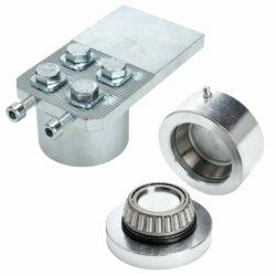Heavy duty adjustable hinge set