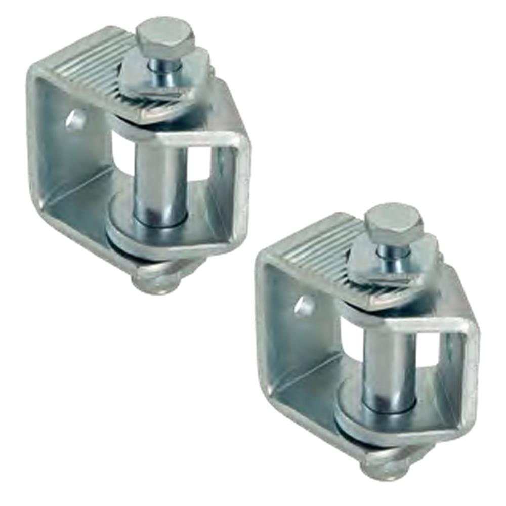 Side-mount adjustable hinges set