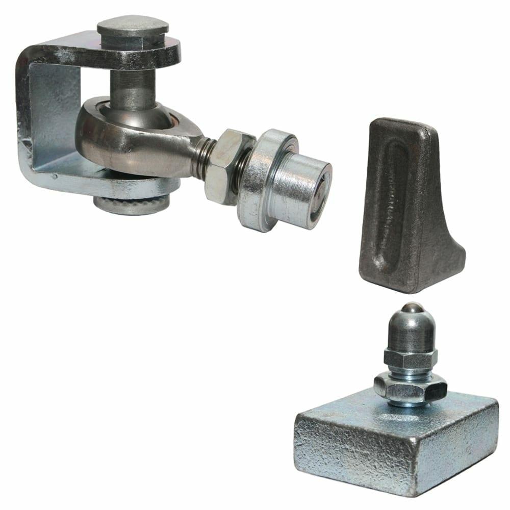 Adjust hinge and bottom pivot paired set