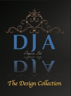 Cover of D.J.A. design book with finished project examples