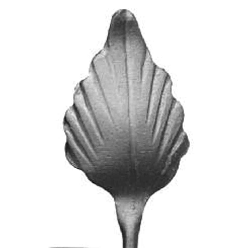 stamped steel leaf