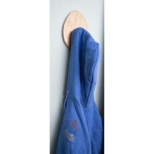 Golf Finial Plaque as Coat Rack