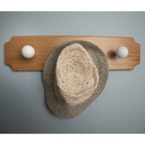 Golf Finial Plaque as Hat Hanger