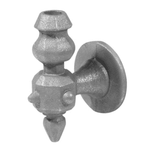 Large Side-Mount Bracket for 5/8″ round balusters in Malleable Iron