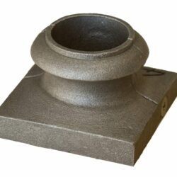 Two piece split shoe for round posts and newels - DJA745A