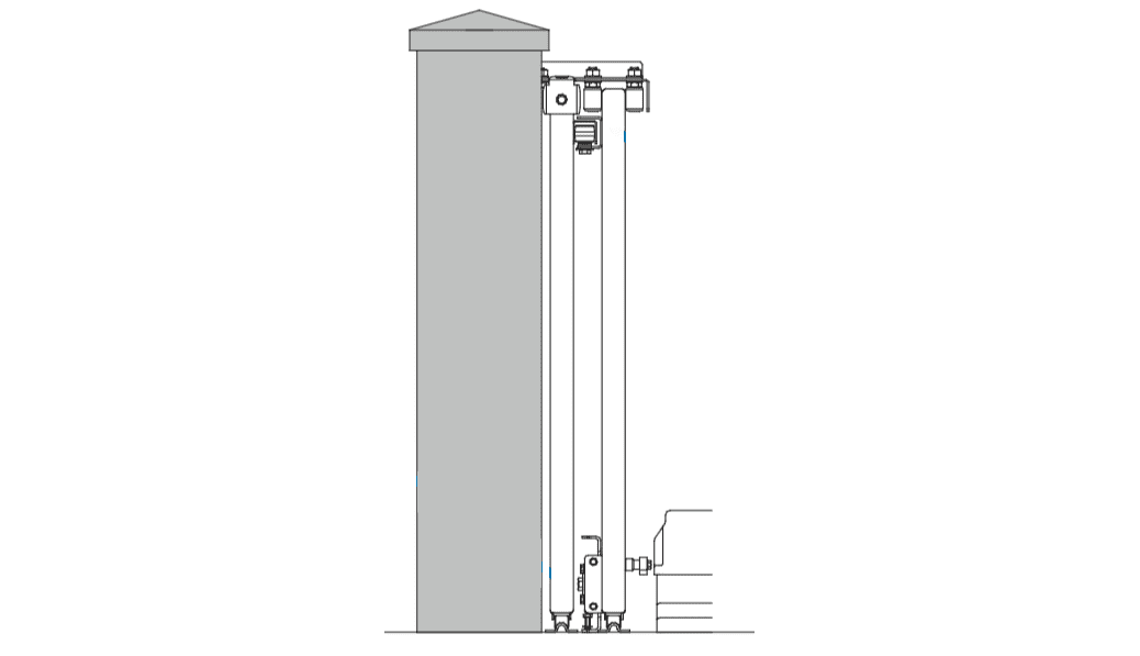 Telescopic Two Illustration (Side View)